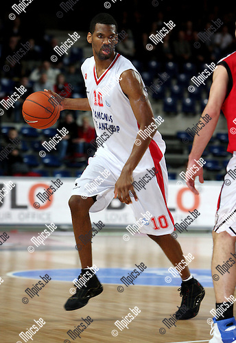 2008-01-08 / Basketbal / Uleb Cup / Antwerp Giants - Hapoel Galil Elyon / Brandon Gay (Antwerp)..Foto: Maarten Straetemans (SMB)