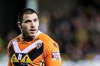 Picture by Alex Whitehead/SWpix.com - 06/03/2015 - Rugby League - First Utility Super League - Castleford Tigers v Wigan Warriors - the Mend A Hose Jungle, Castleford, England - Castleford's Justin Carney.
