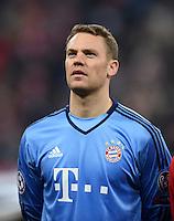 FUSSBALL CHAMPIONS LEAGUE  SAISON 2015/2016 ACHTELFINALE RUECKSPIEL FC Bayern Muenchen  - Juventus Turin      16.03.2016 Torwart Manuel Neuer (FC Bayern Muenchen)