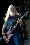 John Campbell of Lamb of God performs during the 2013 Rock On The Range festival at Columbus Crew Stadium in Columbus, Ohio.