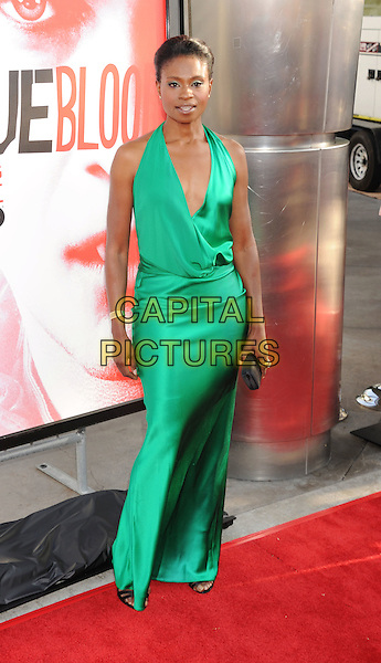 Adina Porter.'True Blood' Season 5 Los Angeles Premiere at ArcLight Cinemas Cinerama Dome, Hollywood, California, USA..May 30th, 2012.full length green dress   .CAP/ROT/TM.© TM/Roth/Capital Pictures