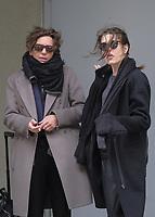 www.acepixs.com<br /> <br /> April 1 2017, New York City<br /> <br /> Monaco Royal Charlotte Casiraghi (R) arrives in JFK with her son Rapha&euml;l Elmaleh on April 1 2017 in New York City<br /> <br /> By Line: Charles Leonard/ACE Pictures<br /> <br /> <br /> ACE Pictures Inc<br /> Tel: 6467670430<br /> Email: info@acepixs.com<br /> www.acepixs.com