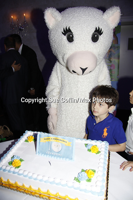 Loukoumi and kids - The Loukoumi Make a Difference Foundation  - A Celebration 10 years in the Making - Dance Party and Make a Difference Awards on June 17, 2015 at Lake Isle Country Club, Eastchester, New York. Founded by Nick Katsoris with guest stars Bold and The Beautiful Constantine Maroulis, Search for Tomorrow Olympia Dukakis and Fox 5 Nick Gregory. (Photos by Sue Coflin/Max Photos)