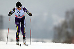Masako Ishida in action during the Women 5 km Classic Individual in Val Di Fiemme<br /> <br /> &copy; Pierre Teyssot