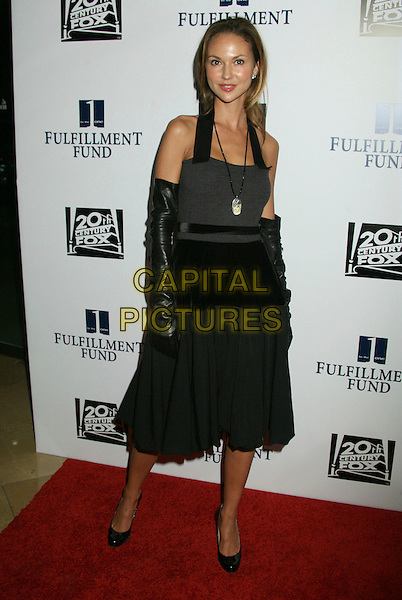 "SVETLANA METKINA.Annual ""Stars 2006"" Benefit Gala hosted by the Fulfillment Fund held at the Beverly Hilton Hotel, Beverly Hills, California, USA..October 16th, 2006.Ref: ADM/BP.full length black dress gloves halterneck.www.capitalpictures.com.sales@capitalpictures.com.©Byron Purvis/AdMedia/Capital Pictures."