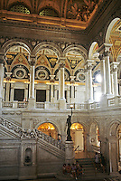 Washington D.C.: Library of Congress--Foyer. Photo '85.
