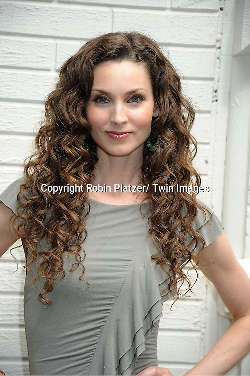Alicia Minshew attending the Good Night Pine Valley Event co-hosted by All My Children actors Ricky Paull Goldin and Alicia Minshew on September 17, 2011 at Prohibition in New York Citya