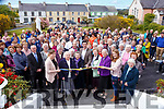 Kerry legend Aidan O'Mahony cuts the tape at the opening of the new Rathmore social action offices in Rathmore Presentation on Sunday