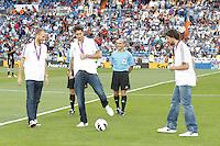 02.09.2012 SPAIN -  La Liga 12/13 Matchday 3th  match played between Real Madrid CF vs  Granada C.F. (3-0) at Santiago Bernabeu stadium. The picture show Felipe Reyes Cabanas (Spanish center of Real Madrid),