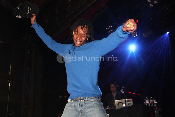 NEW YORK, NY - OCTOBER 7, 2014<br /> Wiz Khalifa performs at the Adweek Wrap party at Webster Hall, October 2, 2014 in New York City. Walik Goshorn / MediaPunch