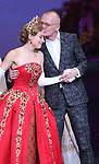 Christy Altomare and Darko Trensnjak during Broadway Opening Night Performance Curtain Call bows for 'Anastasia' at the Broadhurst Theatre on April 24, 2017 in New York City.