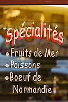 France, Calvados (14), Côte Fleurie, Trouville-sur-Mer,  Brasserie: les Vapeurs // France, Calvados, Côte Fleurie, Trouville sur Mer, Brasserie: Les Vapeurs