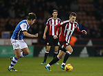 Paul Coutts of Sheffield Utd during the English League One match at Bramall Lane Stadium, Sheffield. Picture date: November 29th, 2016. Pic Simon Bellis/Sportimage