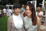 Hannah Simone, Esther Song==<br /> LAXART 5th Annual Garden Party Presented by Tory Burch==<br /> Private Residence, Beverly Hills, CA==<br /> August 3, 2014==<br /> &copy;LAXART==<br /> Photo: DAVID CROTTY/Laxart.com==