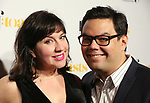 Kristen Anderson-Lopez and Robert Lopez attends the Dramatists Guild Foundation toast to Stephen Schwartz with a 70th Birthday Celebration Concert at The Hudson Theatre on April 23, 2018 in New York City.