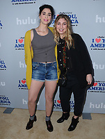 11 October  2017 - Hollywood, California - Sarah Silverman, Amy Zvi. Premiere of Hulu's &quot;I Love You, America with Sarah Silverman&quot; held at Chateau Marmont in Hollywood. <br /> CAP/ADM/BT<br /> &copy;BT/ADM/Capital Pictures