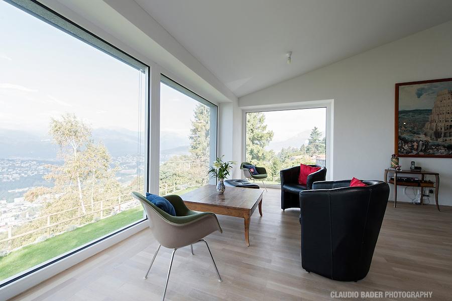Arch. Emanuele Sauerwein, Cureggia, Switzerland, Minergie A