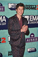 Shawn Mendes<br /> MTV EMA Awards 2017 in Wembley, London, England on November 12, 2017<br /> CAP/PL<br /> &copy;Phil Loftus/Capital Pictures