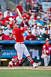 24 February 2019: St. Louis Cardinals top prospect infielder Tyler O'Neill at bat during a Spring Training game against the Washington Nationals at Roger Dean Stadium in Jupiter, Florida. The Cardinals fell to the Nationals 12-2 in Grapefruit League play. Mandatory Credit: Ed Wolfstein Photo *** RAW (NEF) Image File Available ***