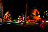 Polynesian dancers, Oahu, Hawaii