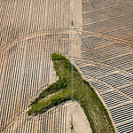 Plowed Fields Benson South Carolina helicopter aerials