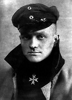 Freiherr Rittmeister von Richtofen.  Baron Captain Manfred von Richtofen, ca.  1917.  (Foreign Records Seized)<br /> Exact Date Shot Unknown<br /> NARA FILE #:  242-HB-1103<br /> WAR & CONFLICT BOOK #:  497