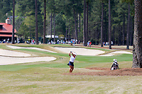Hanna Alberto (USA) on the 9th tee during the second round of the Augusta National Womans Amateur 2019, Champions Retreat, Augusta, Georgia, USA. 04/04/2019.<br /> Picture Fran Caffrey / Golffile.ie<br /> <br /> All photo usage must carry mandatory copyright credit (&copy; Golffile | Fran Caffrey)