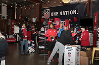 San Jose, CA - March 23, 2017: The U.S. U.S. Soccer FanHQ at San Pedro Square in San Jose, Calif..