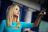 White House Press Secretary Kayleigh McEnany, calls on a member of the media during a news conference in the Brady Press Briefing Room of the White House in Washington, DC, on Wednesday, September 16, 2020. <br /> Credit: Al Drago / Pool via CNP