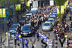 Donal Walsh's funeral at the Mall, Tralee on Wednesday.