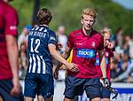 DEN HAAG -  Ruben Versteeg (HCKZ)   na de eerste Play out wedstrijd hoofdklasse heren ,  HDM-HCKZ (1-2) . COPYRIGHT KOEN SUYK
