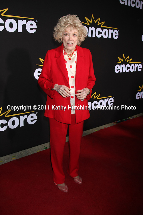 "LOS ANGELES - DEC 7:  Phyllis Diller arrives at the Premiere Of Encore's ""Method To The Madness Of Jerry Lewis"" at Paramount Studios Theater on December 7, 2011 in Los Angeles, CA"