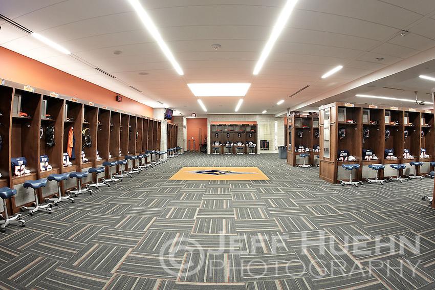 Texas A M Commerce Football Locker Room