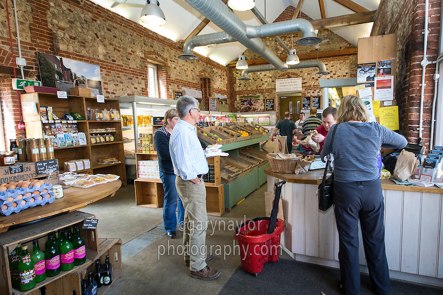 Inside a farm shop - Norfolk