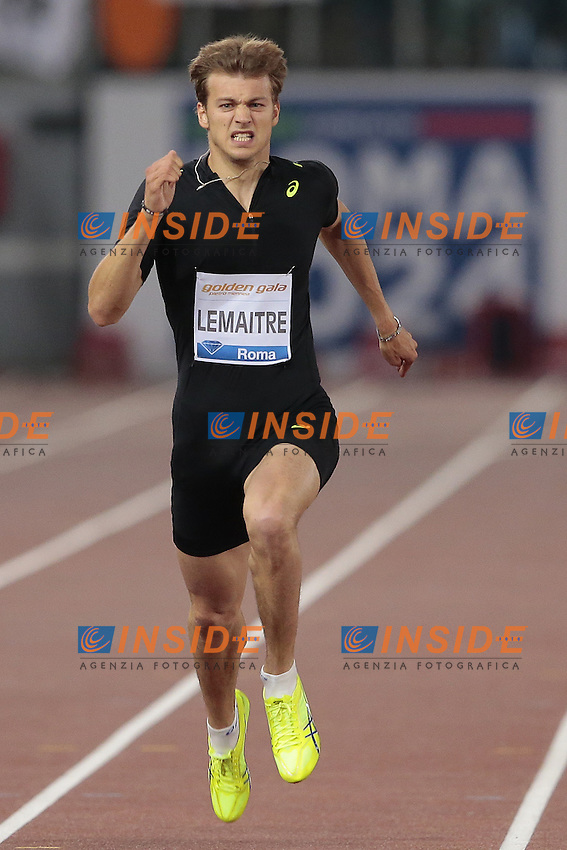 Lemaitre Christophe Francia 200m Men  <br /> Roma 04-06-2015 Stadio Olimpico<br /> IAAF Diamond League 2015 Rome<br /> Golden Gala Meeting - Track And Field Athletics Meeting<br /> Foto Cesare Purini / Insidefoto