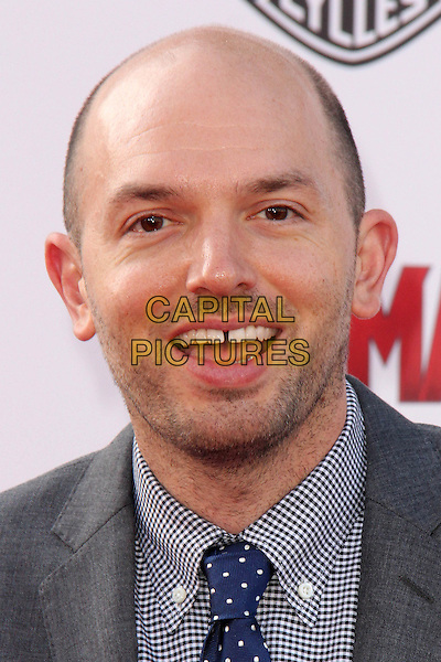 HOLLYWOOD, CA - JUNE 29: Paul Scheer at the premiere of Marvel's 'Ant-Man' at the Dolby Theatre on June 29, 2015 in Hollywood, California. <br /> CAP/MPI/DC/DE<br /> &copy;DE/DC/MPI/Capital Pictures