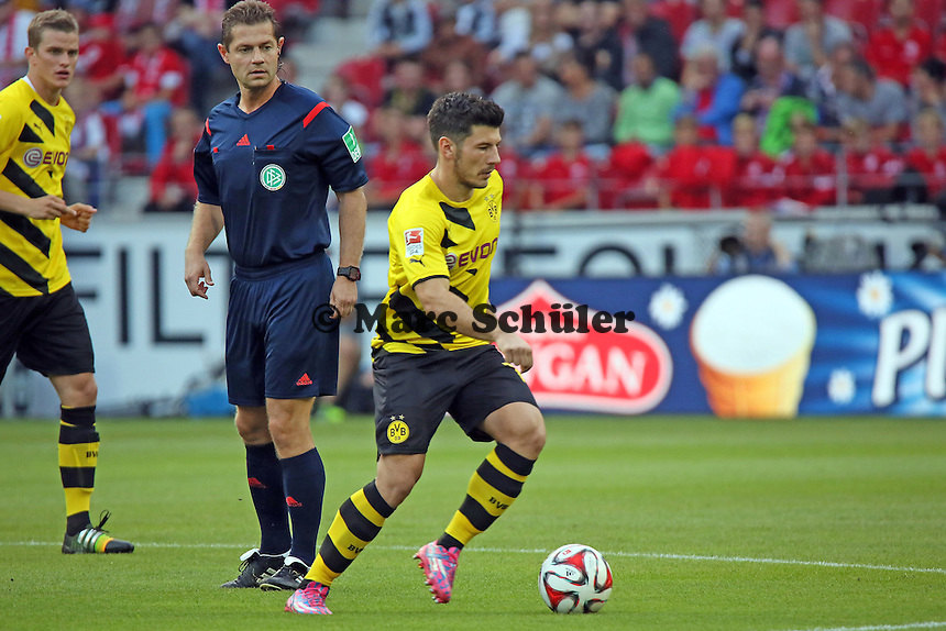 Milos Jojic (BVB) - 1. FSV Mainz 05 vs. Borussia Dortmund, Coface Arena