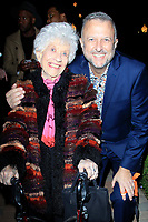 LOS ANGELES - DEC 5: Charlotte Rae, Keith McNutt at The Actors Fund's Looking Ahead Awards at the Taglyan Complex on December 5, 2017 in Los Angeles, California