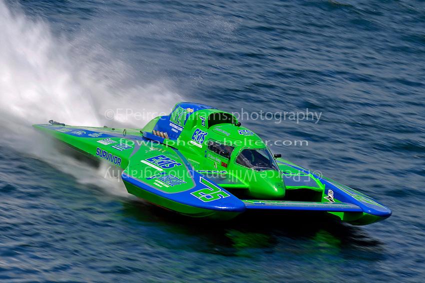 "Brandon Kennedy, GP-25 ""EMS Survivor"" (Grand Prix Hydroplane(s)"