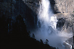 Upper Yosemite Falls, Yosemite National Park, California USA