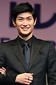 Japanese actror Haruma Miura attends the 28th Japan Best Jewellery Wearer Awards ceremony in Tokyo, Japan on January 24, 2017. (Photo by AFLO)