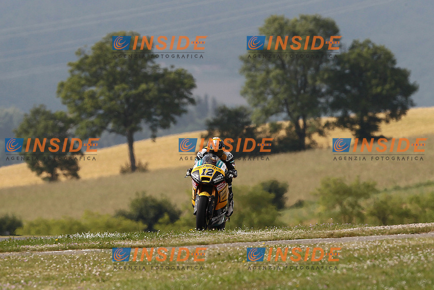 02-06-2013 Mugello (ITA)<br /> Motogp world championship<br /> in the picture: Thomas Luthi - Interwetten team <br /> Foto Semedia/Insidefoto<br /> ITALY ONLY