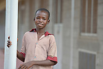 A student in the Loreto Primary School in Rumbek, South Sudan. The Loreto Sisters began a secondary school for girls in 2008, with students from throughout the country, but soon after added a primary in response to local community demands.