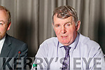 Mundy Hayes (Chairman Kerry Co-op) at the Kerry Co-op Shareholders meeting which took place at Ballyroe Heights Hotel, Tralee, on Tuesday night last.