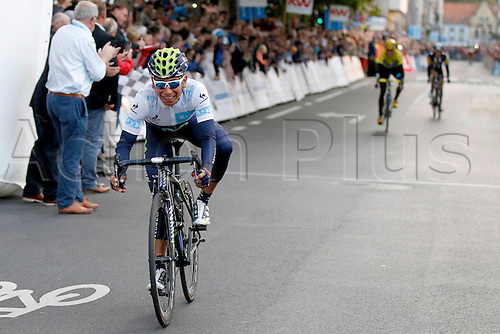 28.07.2015. Roeselare, Belgium. Criterium Roeselare Natour. The city of Roeselare hosts a delegate field with the  main riders of the Tour de France 2015. QUINTANA ROJAS NAIRO