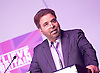 UKIP 2015 Spring Conference<br /> Winter Gardens, Margate, Great Britain <br /> 27th February 2015 <br /> <br /> <br /> <br /> <br /> Harjit Singh Gill <br /> former mayor of Gloucester <br /> <br /> <br /> <br /> Photograph by Elliott Franks <br /> Image licensed to Elliott Franks Photography Services