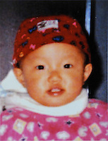 Jiang Mengmeng (2), born in Apr 19, 2001. Stolen from the house on 19 Nov 2003.   Girls in China are increasingly targeted and stolen as there is a shortage of wives as the gender imbalance widens with 120 boys for every 100 girls..PHOTO BY SINOPIX