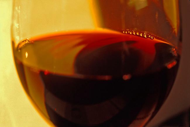 Glass of cabernet