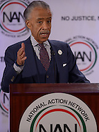 Washington, DC - January 18, 2016: Al Sharpton, civil rights activist and president of the National Action Network (NAN), speaks during the NAN annual MLK Day Awards held at The Mayflower Hotel in the District of Columbia, January 18, 2016  (Photo by Don Baxter/Media Images International)