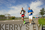 Denis McCarthy and Shane Lowth pictured at the Rose of Tralee International 10k Race in Tralee on Sunday.
